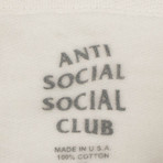ASSC Logo Hooded Sweatshirt // White (S)
