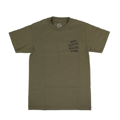 ASSC Logo Short Sleeve T-Shirt // Army Green (S)