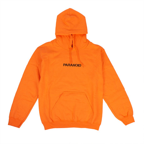 ASSC' Hooded Sweatshirt // Orange (S)