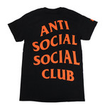 Paranoid ASSC Black Logo T-Shirt // Black (XL)