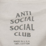 ASSC Black Logo T-Shirt // White (S)