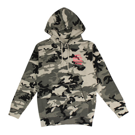Camo 'Frozen' ASSC Hooded Sweatshirt // Green (S)