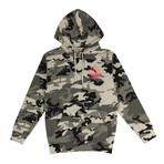 Camo Frozen ASSC Hooded Sweatshirt // Green (S)