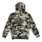 Camo Not Gildan Hooded Sweatshirt // Green (S)
