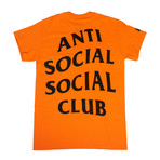 Paranoid ASSC Logo T-Shirt // Orange (XL)