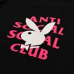 Playboy Remix ASSC Hooded Sweatshirt // Black (S)