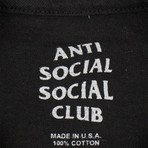 ASSC White Logo T-Shirt // Black (L)