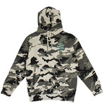 Camo Melrose Ave Hooded Sweatshirt // Green (S)