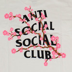 Cherry Blossom ASSC T-Shirt // White (S)