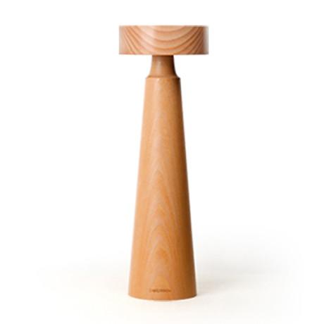 Wood Tower LED Reading Lamp // Large