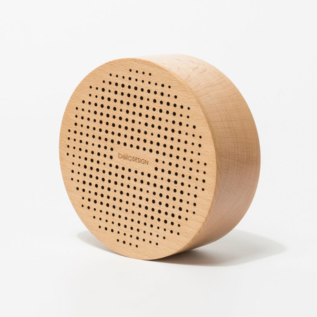 Wood Bluetooth Speaker // Dot // Round
