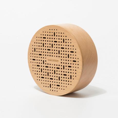 Wood Bluetooth Speaker // Drop // Round