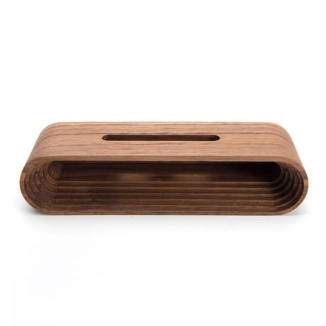 Wood Phone Speaker Base (Maple)
