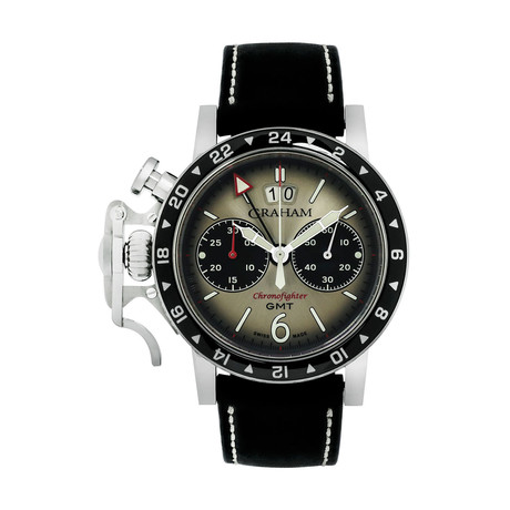 Graham Chronofighter Vintage Automatic // 2CVBC.S07A // Store Display