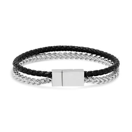"Juxto Mini Bracelet // Steel (7.5"")"