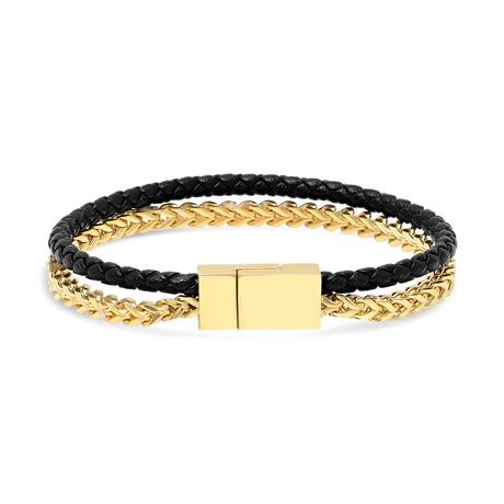 """Juxto Mini Bracelet // Gold (7.5"""")"""