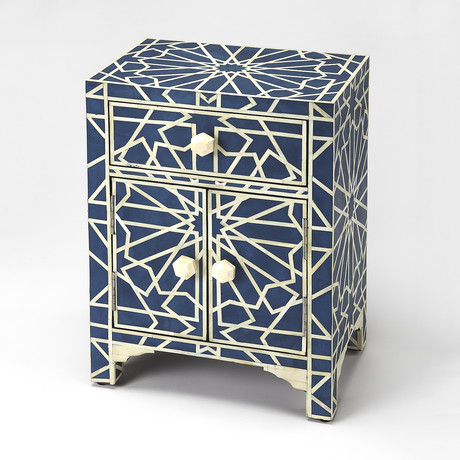 Ahlam Bone Inlay Accent Chest