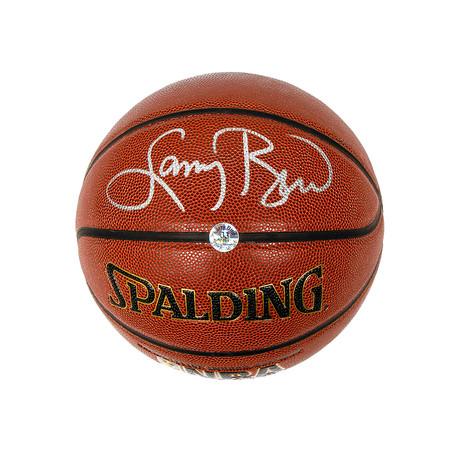 Larry Bird // Boston Celtics // Autographed Basketball