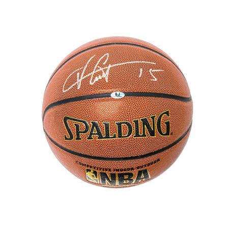 Vince Carter // Toronto Raptors // Autographed Basketball
