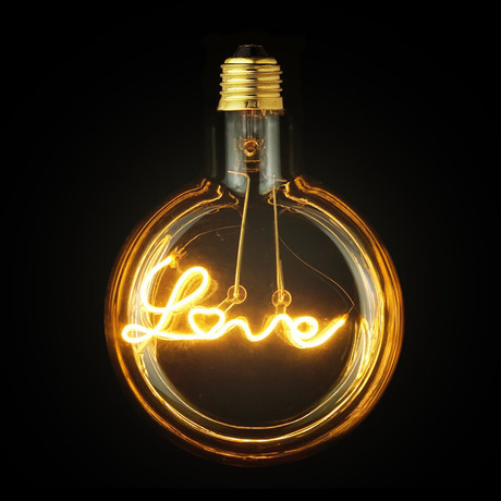 Love LED Light Bulb