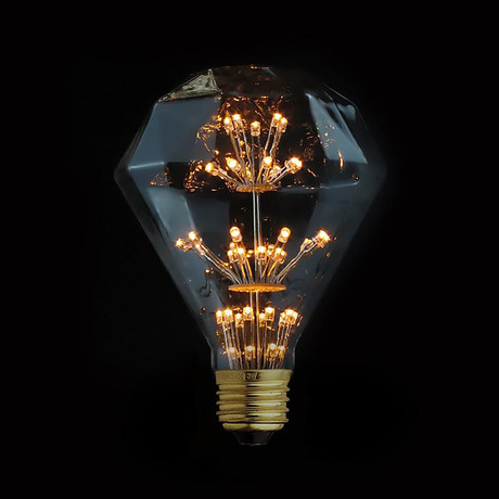 3W LED Edison Diamond Fireworks Light Bulb