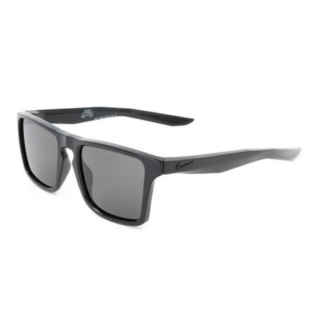 Men's Verge Sunglasses // Black + Dark Gray