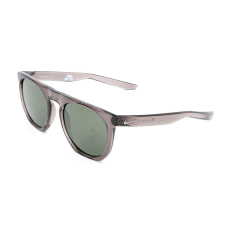 Nike // Men's Flatspot Sunglasses // Gunsmoke + Green