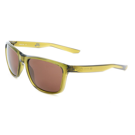 Nike // Men's Unrest Sunglasses // Camper Green + Dark Brown