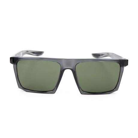 Men's Ledge Sunglasses // Anthracite + Black + Green