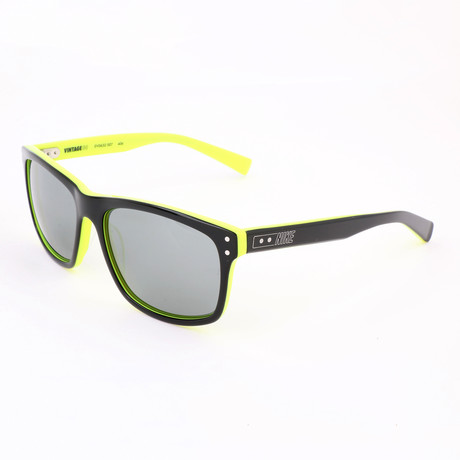 Men's Vintage Sunglasses // Black + Volt