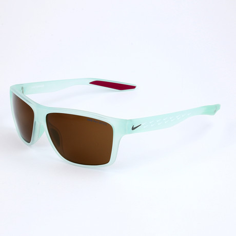 Nike // Unisex Sunglasses // Matte Igloo + Dark Brown