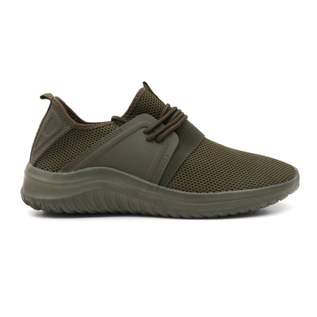 Ace Knitted Sneakers // Olive (US: 7)