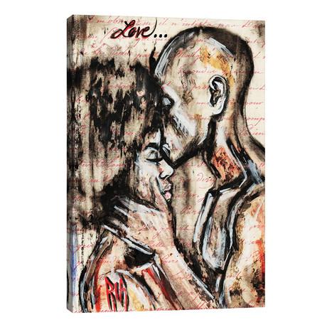"Love Story // Artist Ria (12""W x 18""H x 0.75""D)"