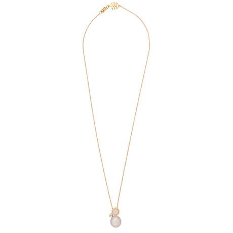 Mimi Milano 18k Rose Gold Multi-Stone Pendant Necklace III