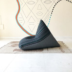 Handloom Cotton Beanbag // Voodoo Lounge + Charcoal