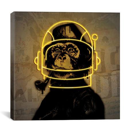 "Neon Monkey // Danilo de Alexandria (12""W x 12""H x 0.75""D)"