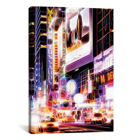 "Flashing Neon Lights // Philippe Hugonnard (12""W x 18""H x 0.75""D)"