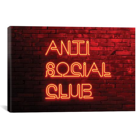 """Anti Social Club // Philippe Hugonnard (18""""W x 12""""H x 0.75""""D)"""