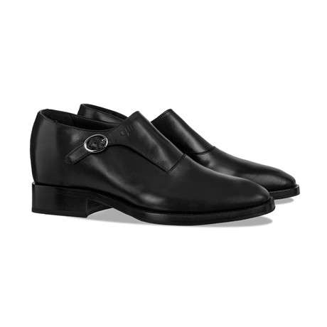 Gorizia Monk Strap Shoes // Black (US: 7)