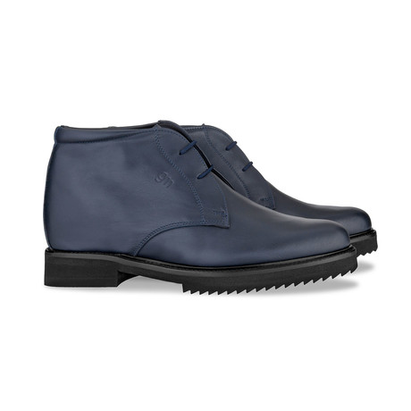 Benedict Canyon Ankle Boots // Blue (US: 7)