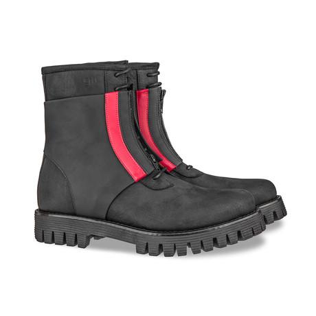 K-Star Combat Boots // Black (US: 7)