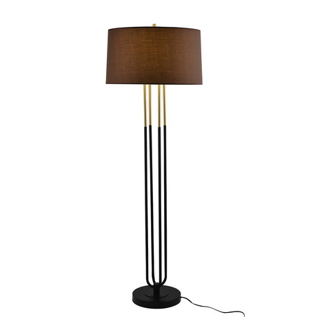 Alaya Floor Lamp (Black)
