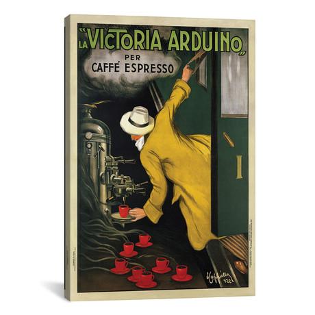 """Victoria Arduino, 1922 // Leonetto Cappiello (26""""W x 40""""H x 1.5""""D)"""