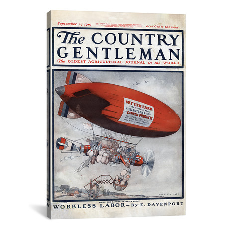 "The Country Gentleman // Unknown (12""W x 18""H x 0.75""D)"