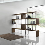 VICTORIA Bookcase // Walnut Veneer