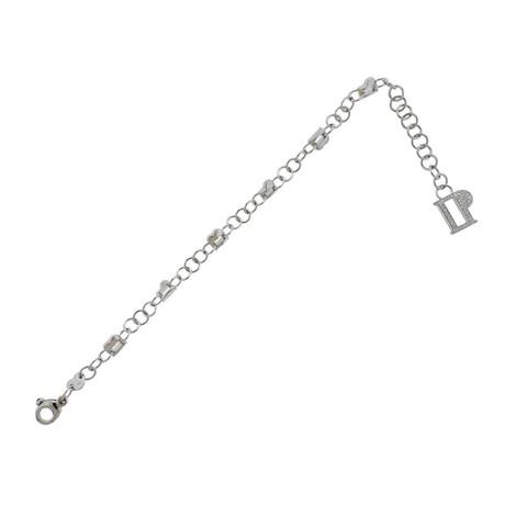 Pasquale Bruni 18k White Gold Charm Diamond Bracelet