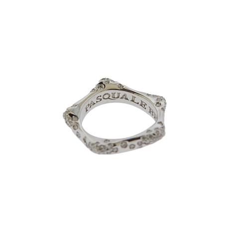 Pasquale Bruni 18k White Gold Metafore Diamond Ring // Ring Size: 7