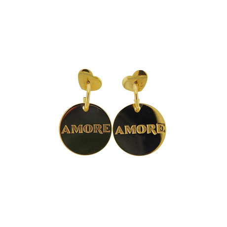 Pasquale Bruni 18k Yellow Gold Amore Gold Hoop Earrings