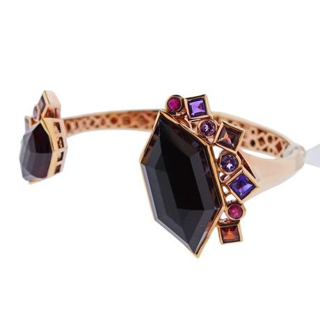 Stephen Webster 18k Rose Gold Struck Multi-Stone Bracelet