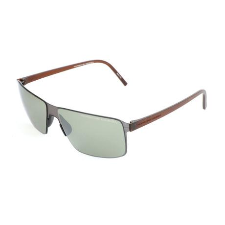 Men's P8646 Sunglasses V1 // Dark Gunmetal